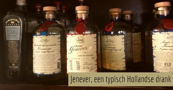 Oude en jonge jenever, twee typisch Hollandse dranken
