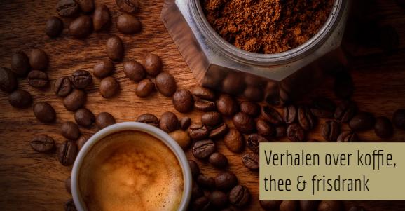 Het verhaal achter koffie, thee & frisdrank