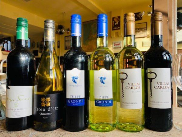 Wijnpakket Burgemeester Jansen huiswijn